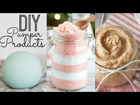 Bath Bombs, Sugar Scrub, & Bath Salts! | DIY Gifts ♡