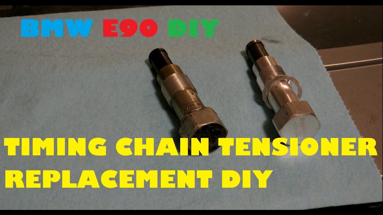 How To Change Your Timing Chain Tensioner For 25 On E90 Bmw Ford 2006 5 4 Tensioners 335i 3 Series
