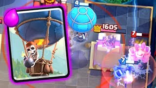 Clash Royale - NEW BALLOON CYCLE DECK!
