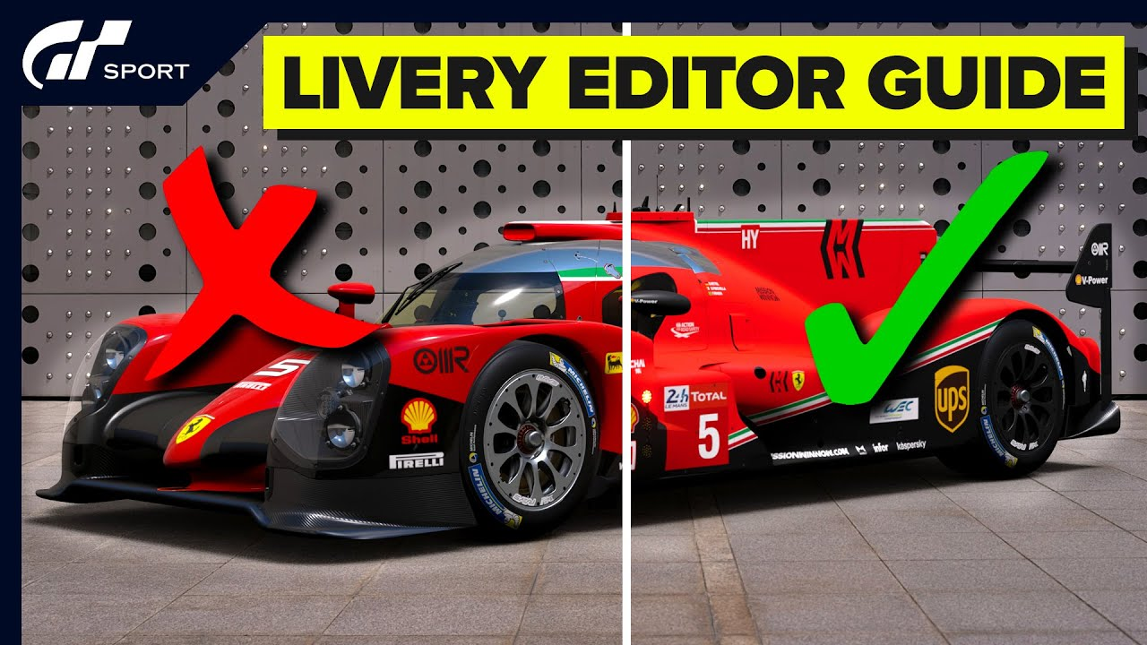 Download GT Sport Livery Editor - 5 simple tips for better liveries