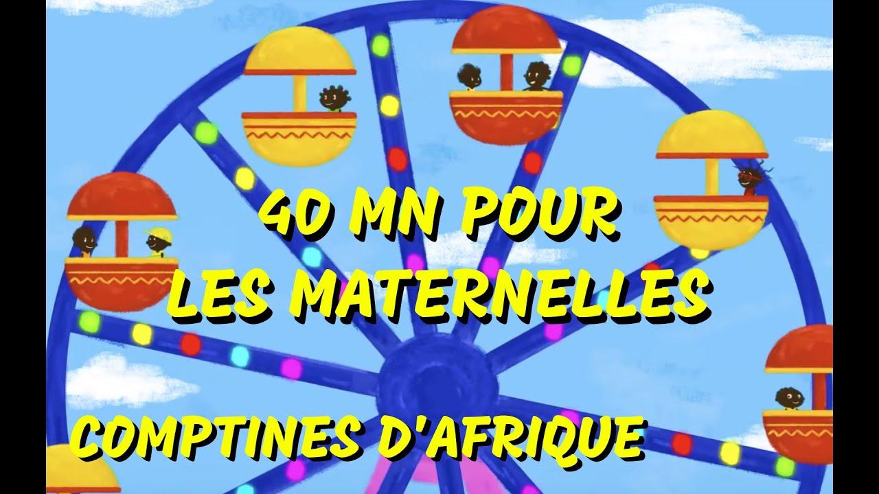 Comptines Africaines de maternelles - 40min de Chansons d'Afrique pour les petits (avec paroles