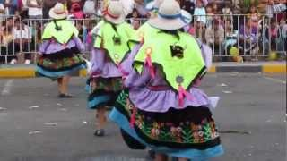 Peruvian Dancing, Traditional Clothing & Music in Chimbote