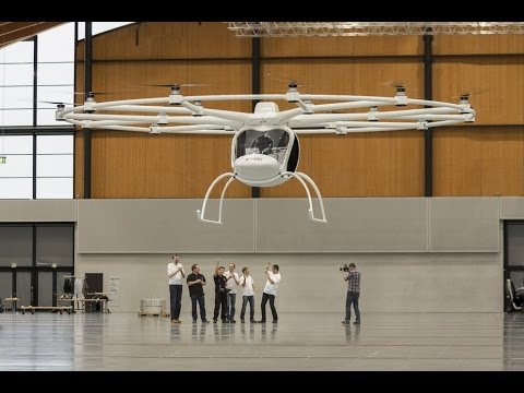 Volocopter VC200 First Flight