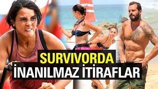 Survivorda Yarıştıktan Sonra İnanılmaz İtiraflarda Bulunan Yarışmacılar!