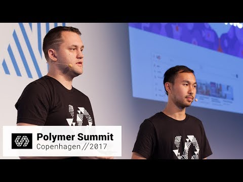 Polymer @ YouTube (Polymer Summit 2017)