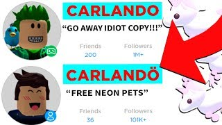I Copied People's Roblox Usernames for FREE NEON PETS in Roblox Adopt Me!