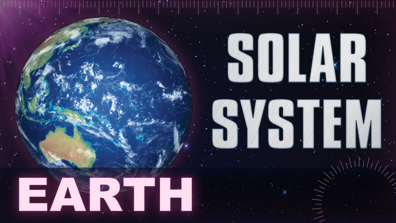 Earth Solar System Universe Planets Facts Animation