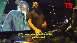 Linkin Park Victimized Qwerty / Points Of Authority  Live In São Paulo 2012 #ts