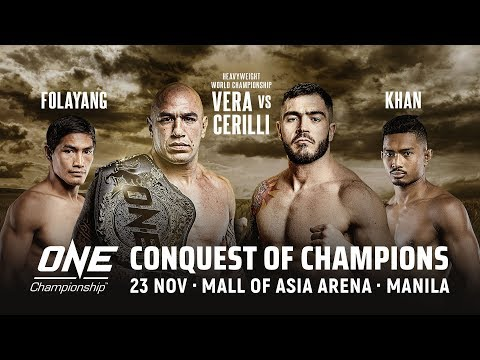 [Full Event] ONE Championship: CONQUEST OF CHAMPIONS Mp3