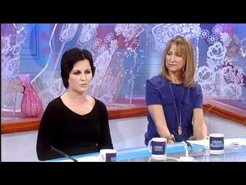 Loose Women Interview's Dolores O'Riordan (The Cranberries) (With Tomorrow Video Preview) HQ
