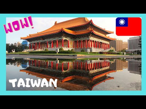 TAIPEI: The historic NATIONAL THEATRE and Concert Hall (Taiwan)
