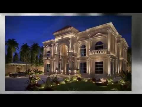 Villa exterior design by algedra for Classic villa exterior design