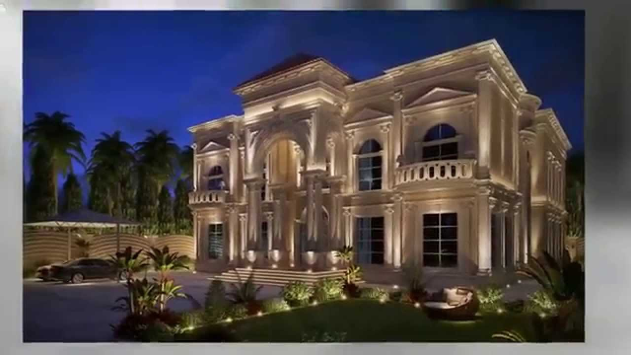 Luxury classic villa exterior modern house for Home design classic ideas