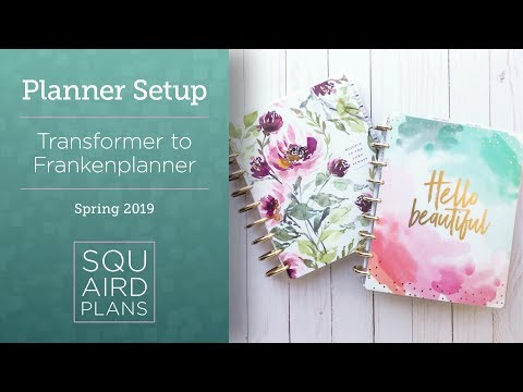 New Planner Setup :: Spring 2019 :: Happy Planner