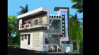 AWESOME GREEN SHADE MIX COLOR HOUSE EXTERIOR DESIGNS