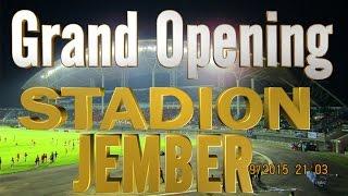 FULL VIDEO - Pembukaan Stadion Jember Sport Garden