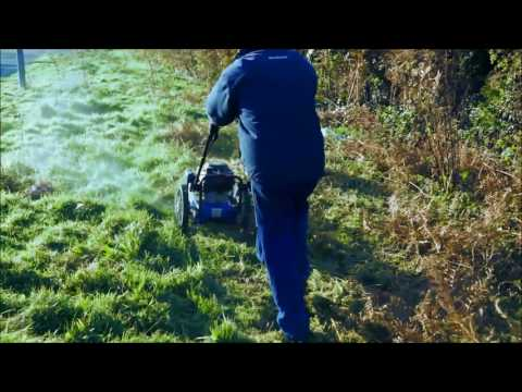 Hyundai HYFT56 Petrol Push Field Grass Trimmer/Strimmer