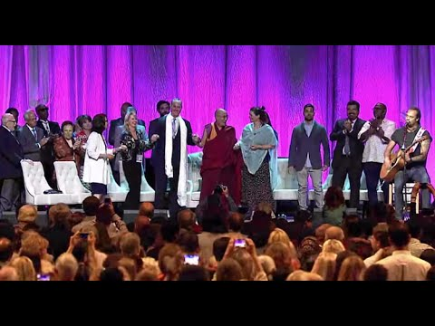 Michael Franti's Live Performance of 'Once A Day' with the Dalai Lama