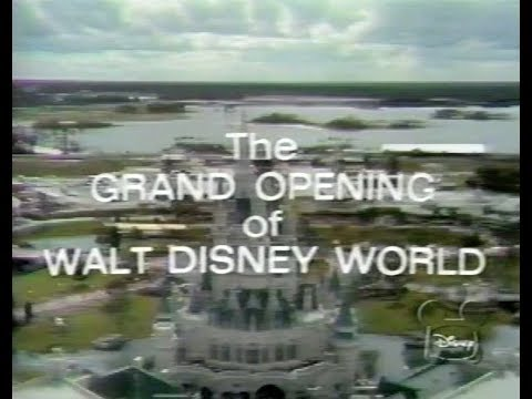 The Grand Opening of Walt Disney World 1971 TV Special