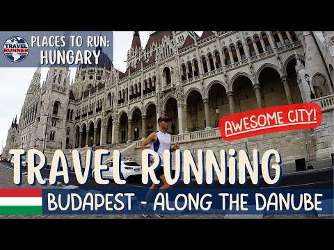 DAY and NIGHT running in Budapest || HUNGARY (Futás Budapesten)