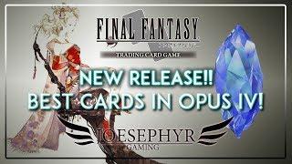 final fantasy tcg best cards in opus 4 iv