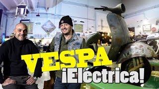 FABRICAMOS una VESPA ELÉCTRICA del '58: ¡Detalles desvelados y primer montaje! - EPISODIO 1