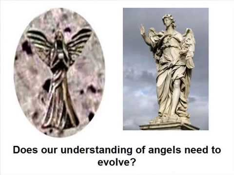 Ancient Statue of an Angel Found on the Moon
