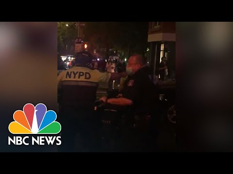 Bystander Video Shows NYPD Officers Charging Protesters, Pedestrians In West Village | NBC News