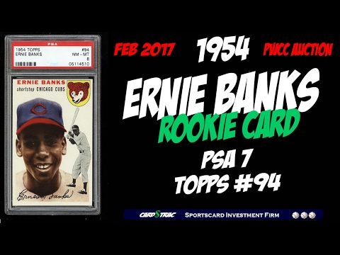 1954 Ernie Banks Rookie Card Psa 7 At Pwcc Premier Auctions