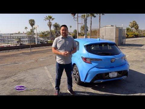 2019 Toyota Corolla Hatchback: First Drive Review — Cars.com