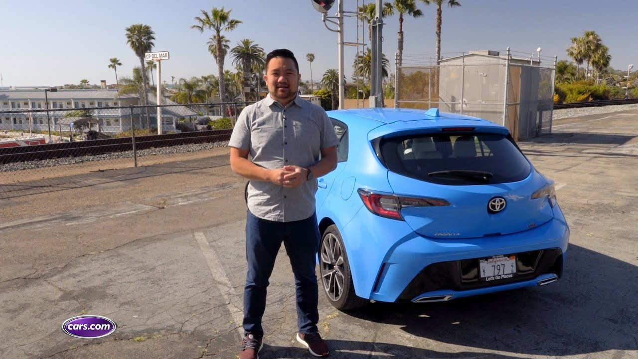 2019 Toyota Corolla Hatchback First Drive Review Cars Com Youtube