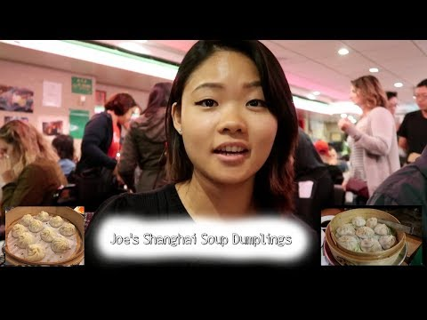 Joe's Shanghai Soup Dumplings Food Review!