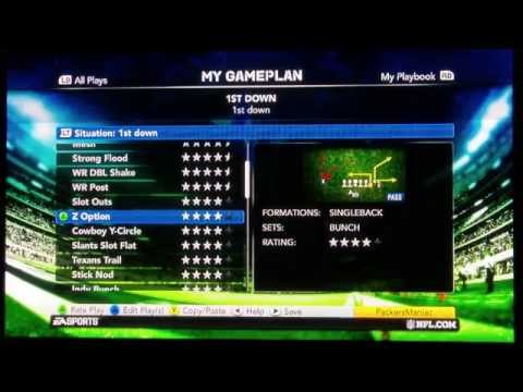 Madden Nfl 11 Wii Tips Madden Nfl 11 Gameplan Tips do