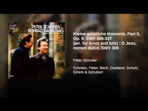 Kleine geistliche Konzerte, Part II, Op. 9, SWV 306-337 (arr. for tenor and lute) : O Jesu,...