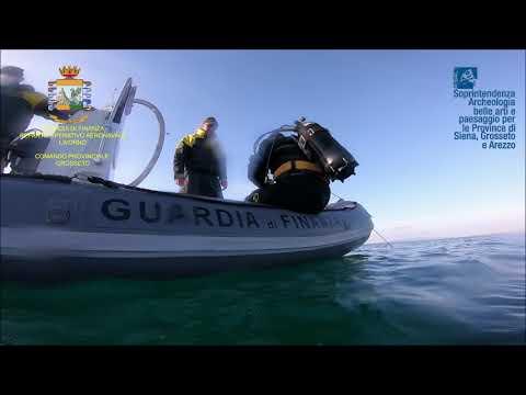 ROAN - Guardia di Finanza Livorno - Relitto Nave Romana Follonica