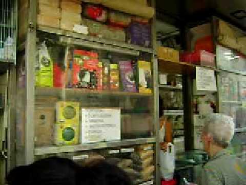 Pet Stalls in La Rambla, Barcelona