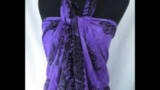 sealife turtle purple sarong wholesale pareo Hippie Urban wear wholesalesarong.com