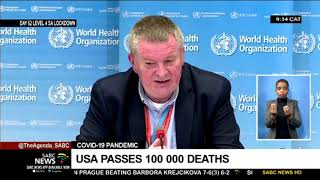 COVID-19 Pandemic | USA passes 100 000 deaths