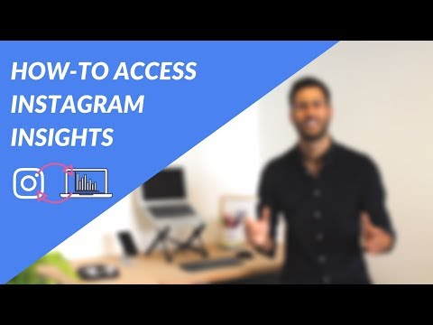 How To Access Instagram Insights - Tutorial For Free Instagram Analytics