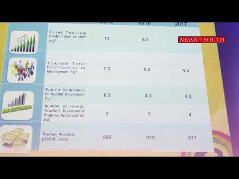 Zimbabwe Tourism Authority Dr. Kaseke presentation at Zimdaba London 2018