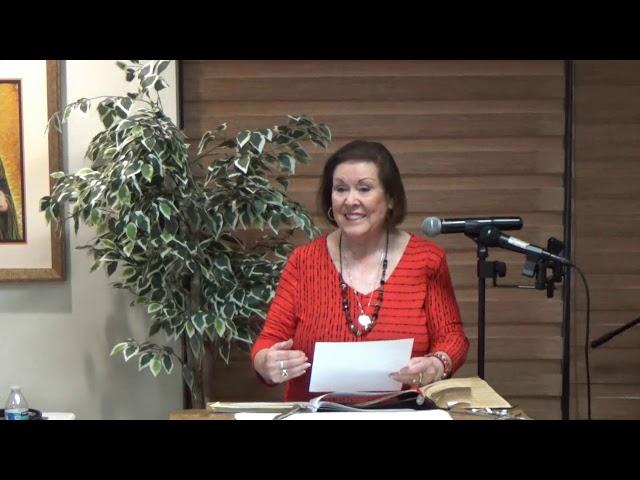 Women's Christian Fellowship Week 5 Revelations October 31, 2019