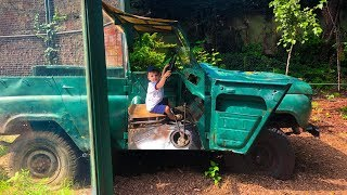 Giant Power Wheels Green Car at the Zoo Fun Day