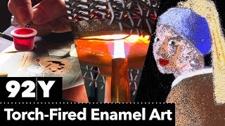 "Creating ""Girl with a Pearl Earring"" with Torch-Fired Enamel"
