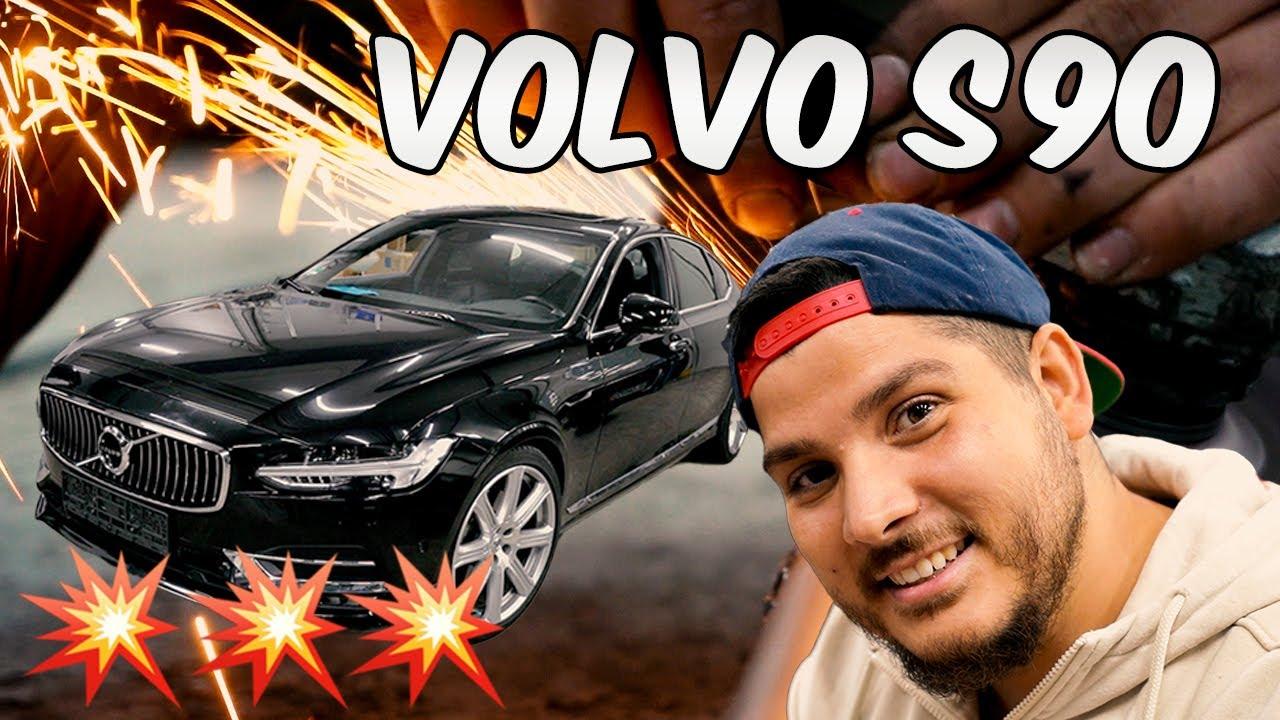 Die S-klasse von Volvo | Volvo S90 bekommt Sound und wird Tiefer gelegt!🤩🤩