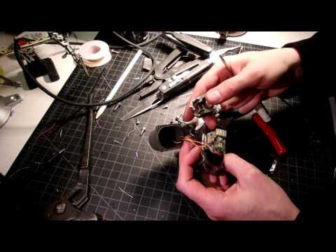 Proportional Hydraulic Solenoid Valve MOOG 32-160 servovalve teardown