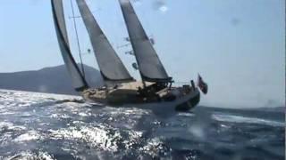 Goelette (caïque) à 11 noeuds ! (gulet, caicco, yacht, bateau, voilier, ketch)