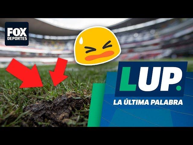 """""""La cancha (Azteca) está destrozada"""": André Marín"""