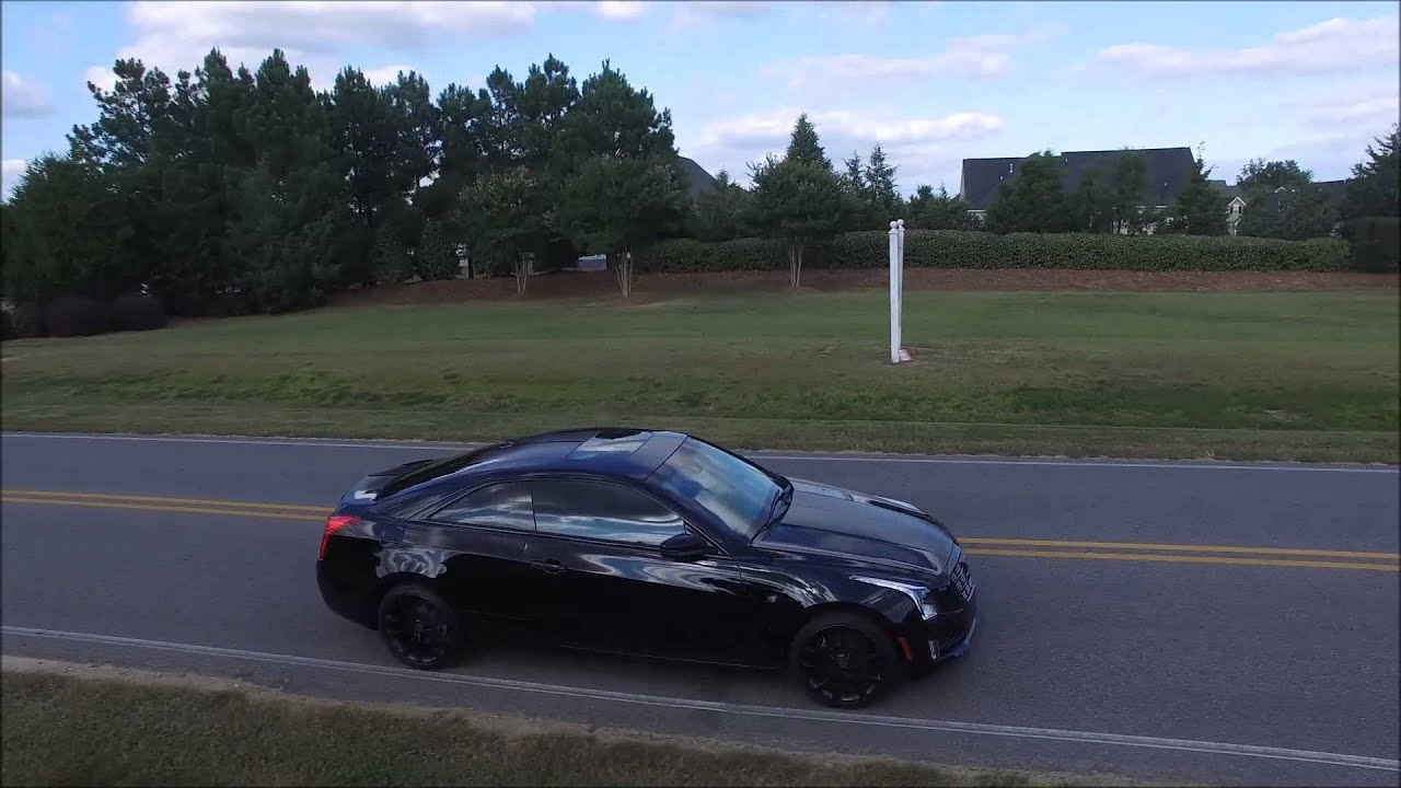 Cadillac ATS - Coupe - non retail full blackout package - YouTube