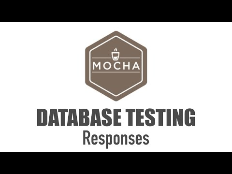 Database API Response Unit Testing