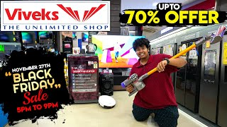 Black Friday Sales in Viveks Showrooms - Home Appliances - Chennai - Irfan's View